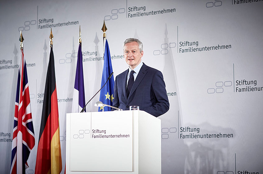 Bruno Le Maire, Minister of Economy and Finance of the French Republic at the German Family-Business Day