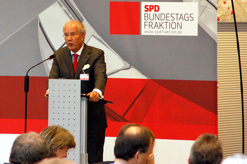Family-business conference with the SPD parliamentary group