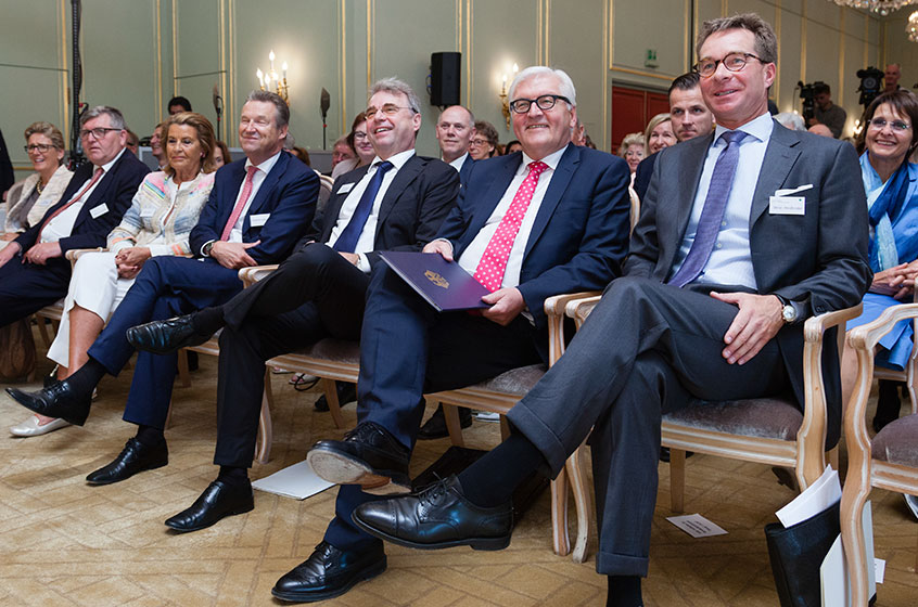 Federal Foreign Minister Dr. Frank-Walter Steinmeier in the House of Family Businesses