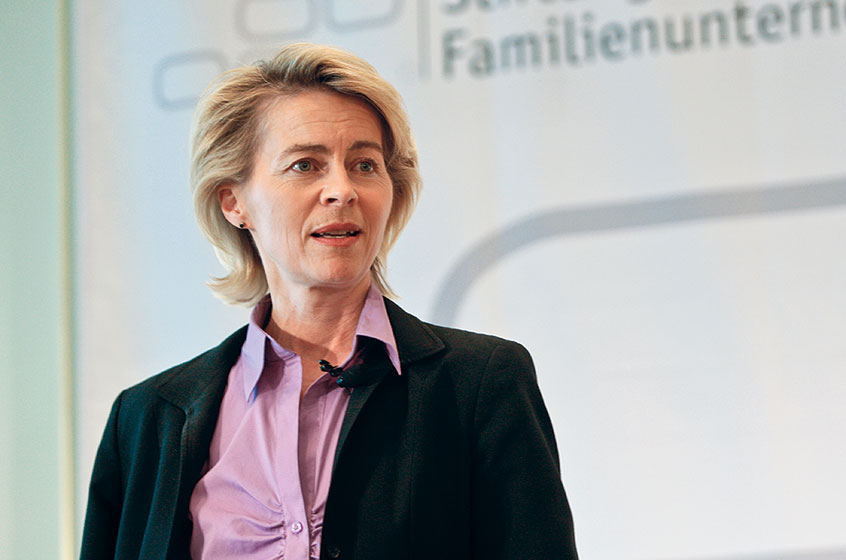 Dr. Ursula von der Leyen, President-elect of the European Commission