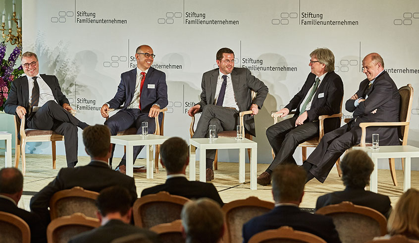 German Family-Business Day 2017 - Podium discussion Karl-Theodor zu Guttenberg